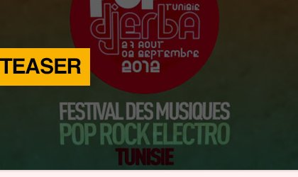 Festival Pop in Djerba