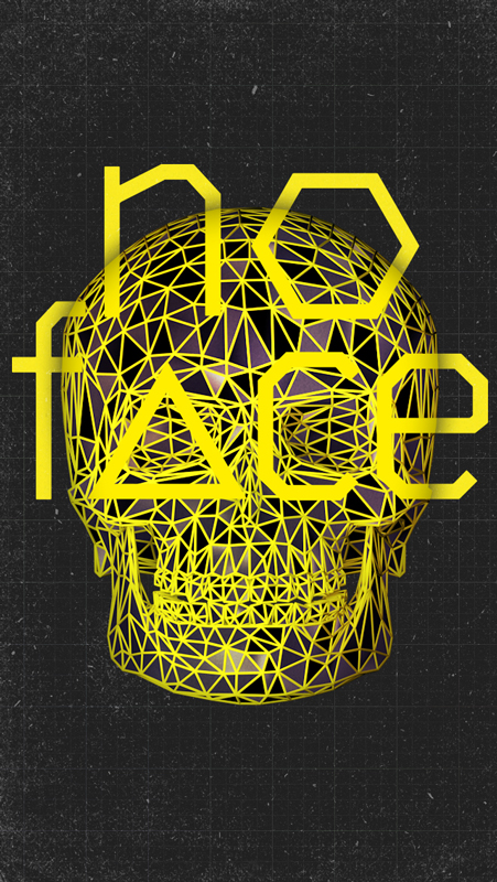 No Face & Skull, iPhone Yellow Preview