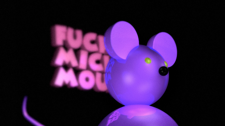 Fucking Mickey Mouse - 02 (détail)